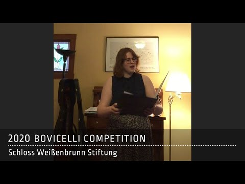 Sarah Coffman | USA: G. P. da Palestrina, Io son ferito with diminutions by G. B. Bovicelli